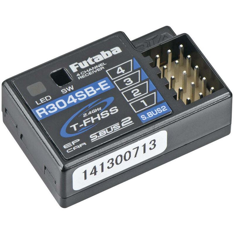 R304SBE S.Bus2 4-Channel T-FHSS Telemetry Rx