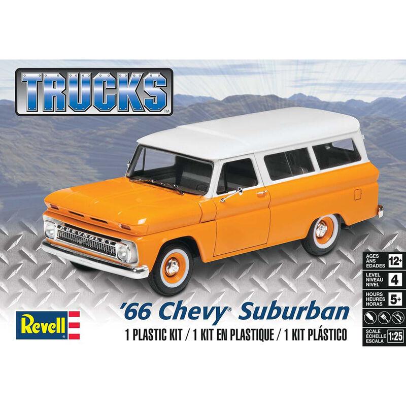 1 25 '66 Chevy Suburban