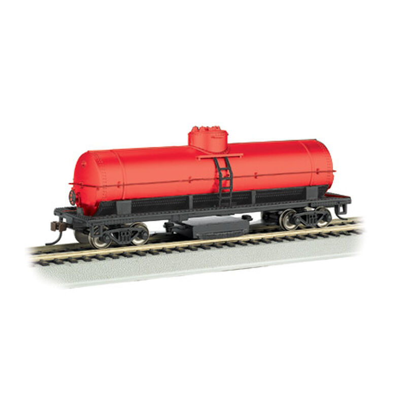 HO Track Cleaning Tank Car, Oxide Red