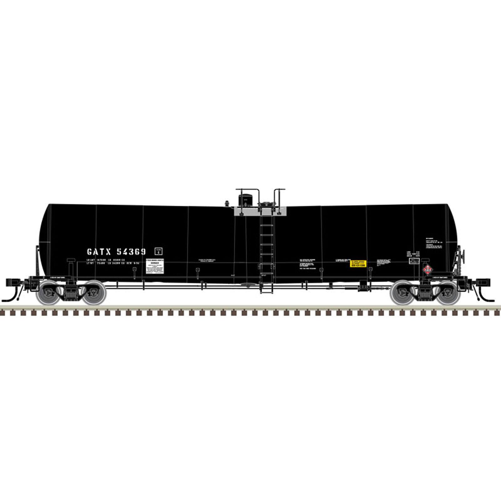 N 25 000-Gallon Tank GATX #54369