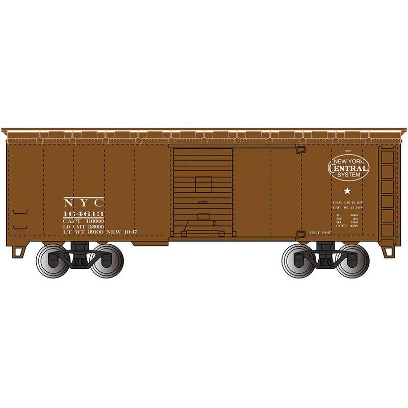 HO 1930-1950 40' Box NYC