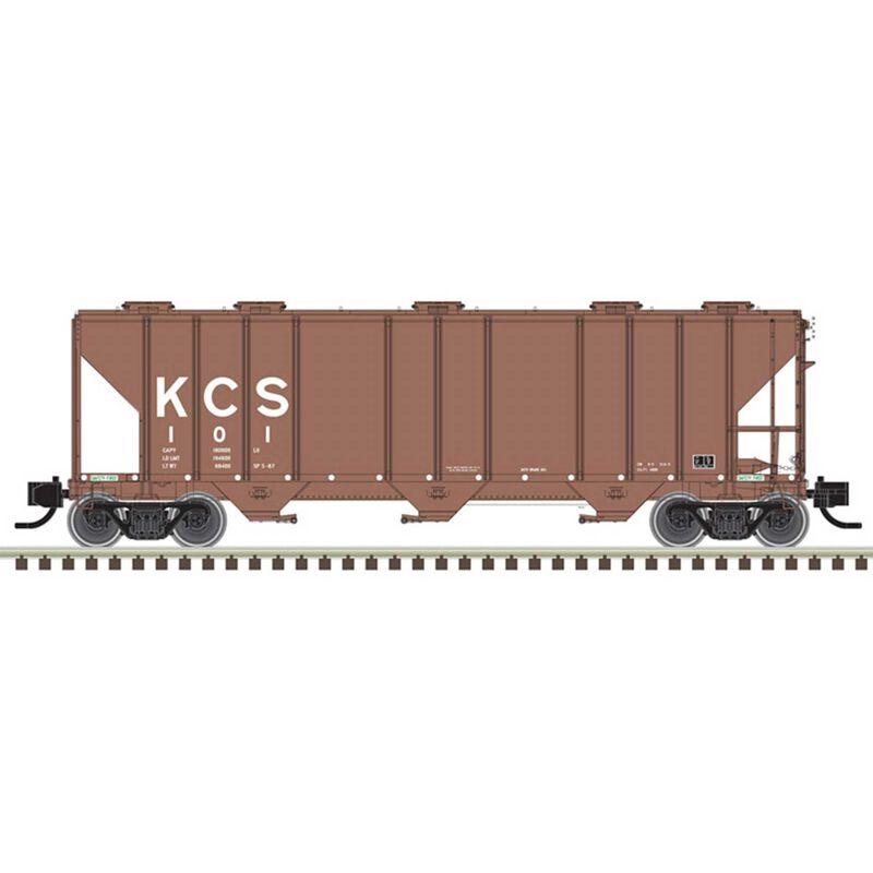 N PS-4000 Hopper Kansas City Southern 111