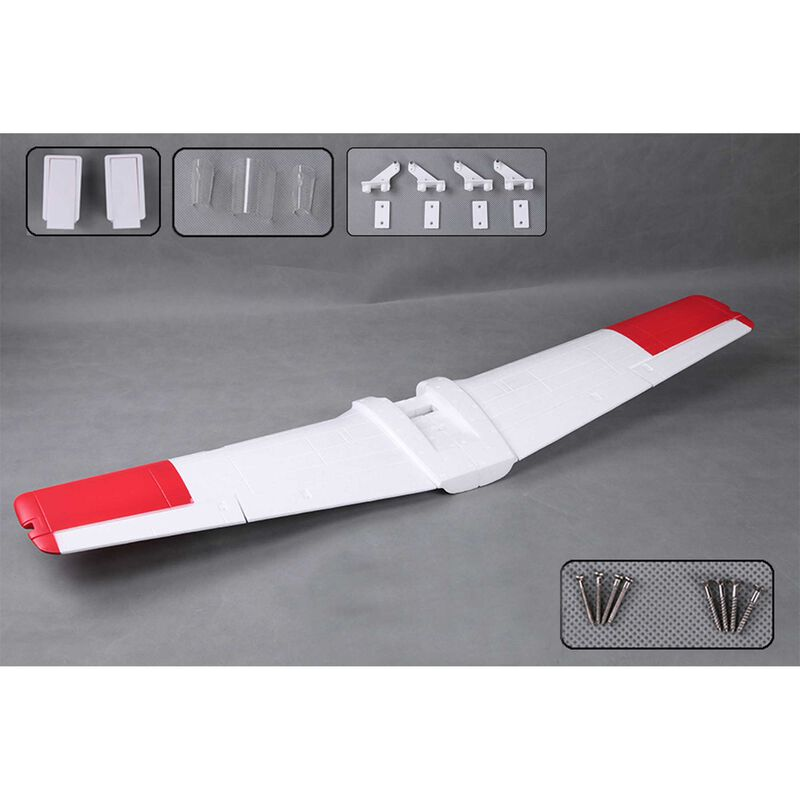 Main Wing: T28 V4 1400mm, Red