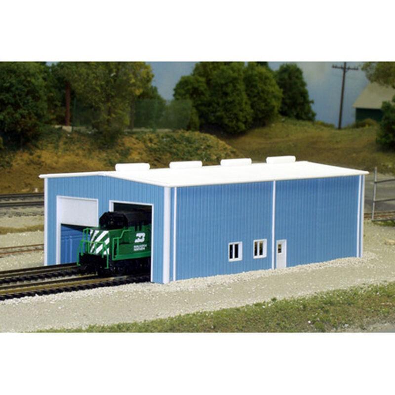 N KIT Two Stall Enginehouse