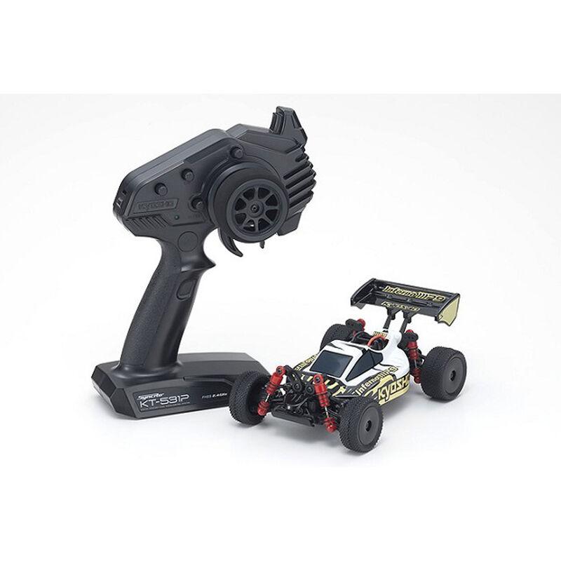 MINI-Z Buggy Readyset Inferno MP9 2WD RTR, White/Black