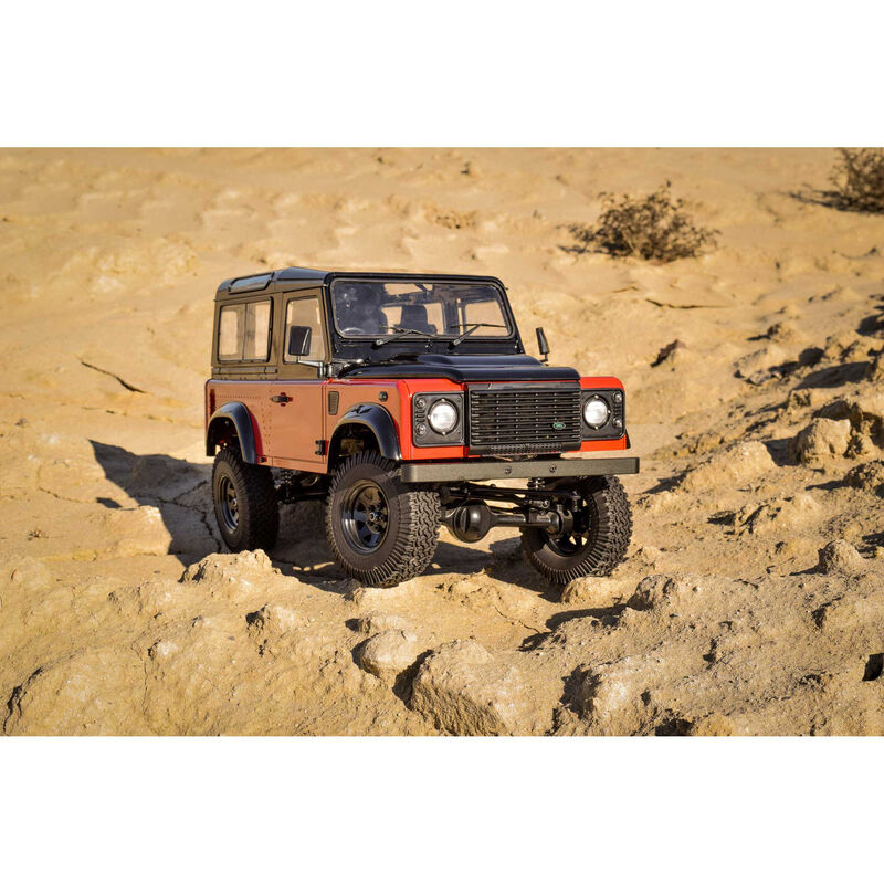 Gelande II RTR with 2015 Land Rover Defender D90