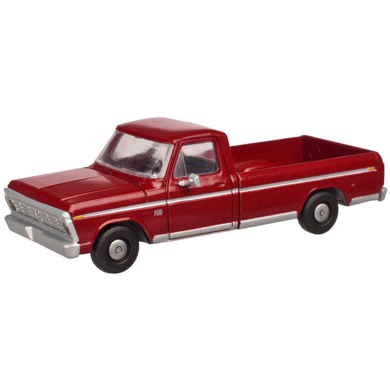 O Ford F-100 Pickup Candy Apple Red