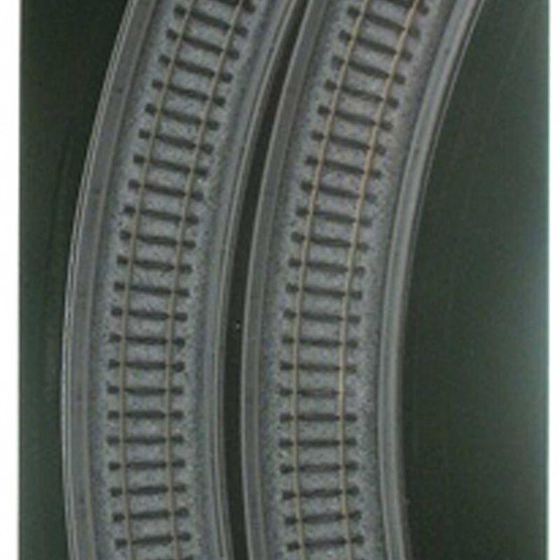 """N 249mm 9-3/4"""" Radius 45-Degree Viaduct (2)"""