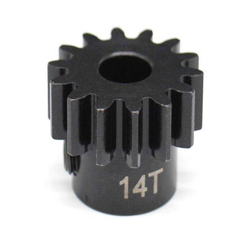 14t Mod 1.5 Hardened Steel Pinion Gear 8mm Bor