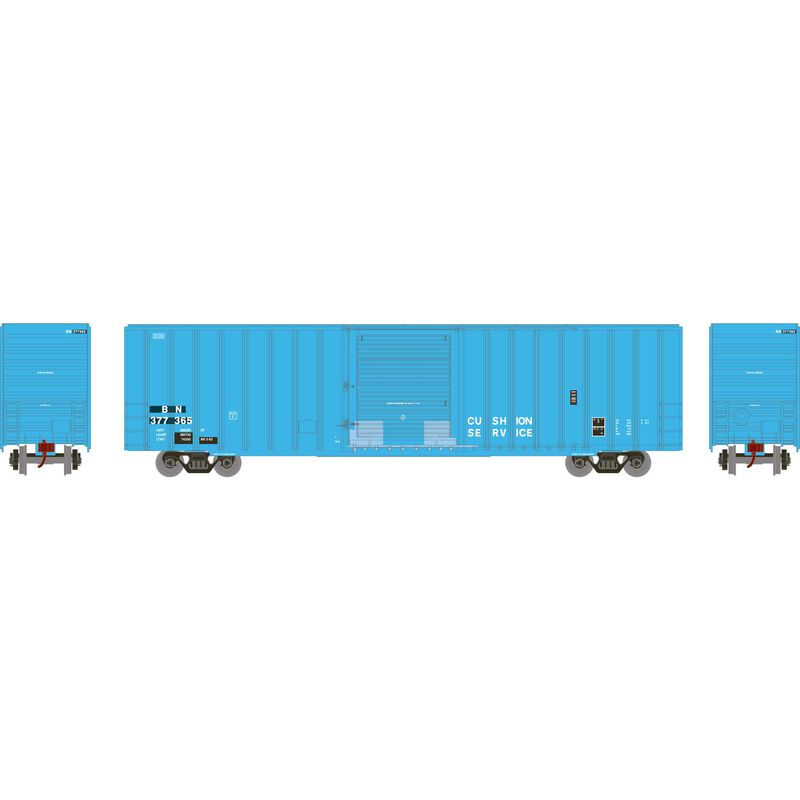 HO RTR 60' ICC Hi-Cube Box BN #377365