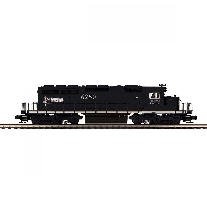 O-27 SD40-2 with PS3 IC #6250