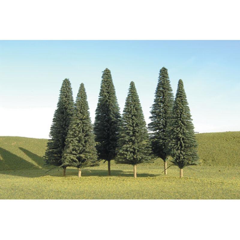 "Scenescapes Pine Trees, 5-6"" (6)"