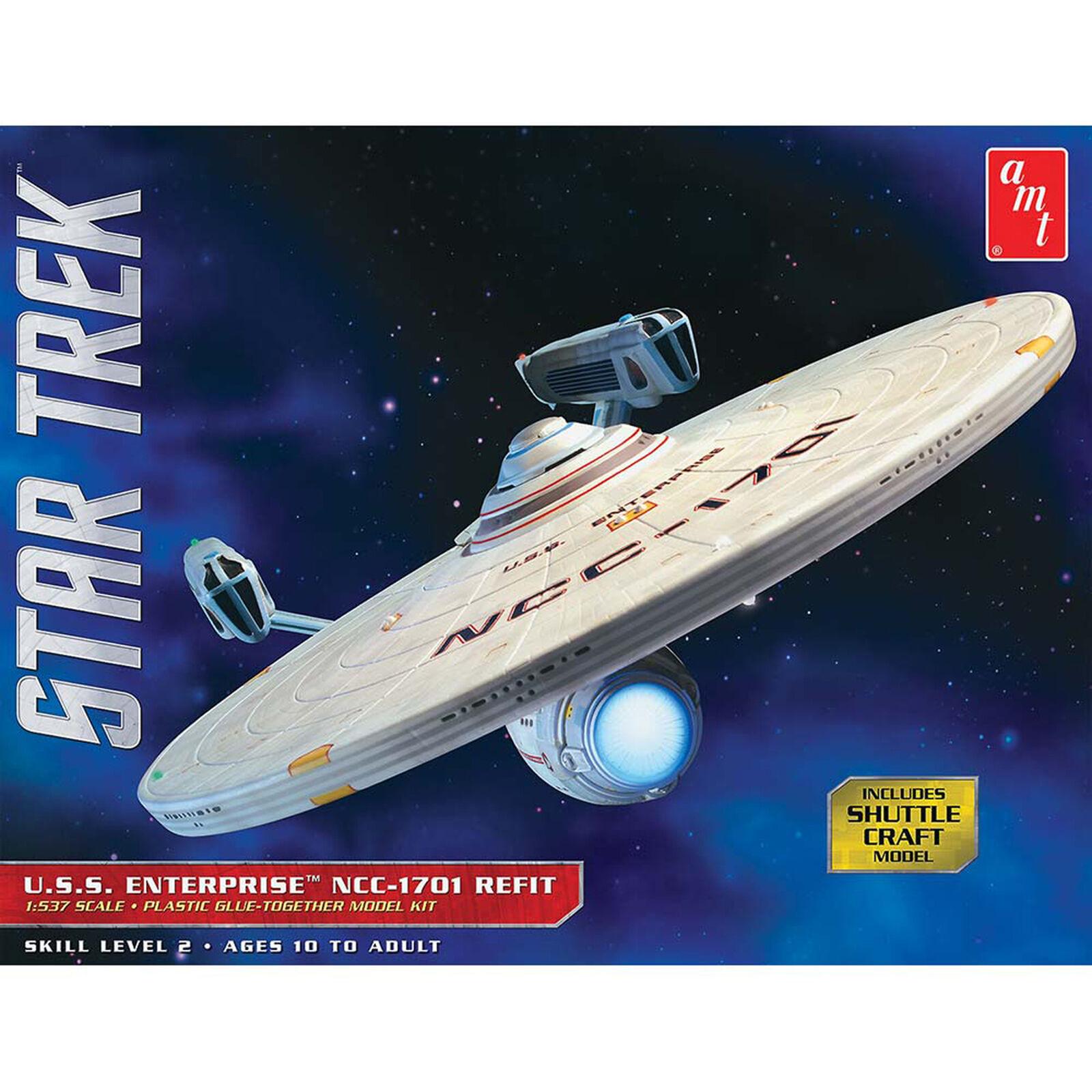 1/537 Scale, Star Trek USS Enterprise Refit, Model Kit