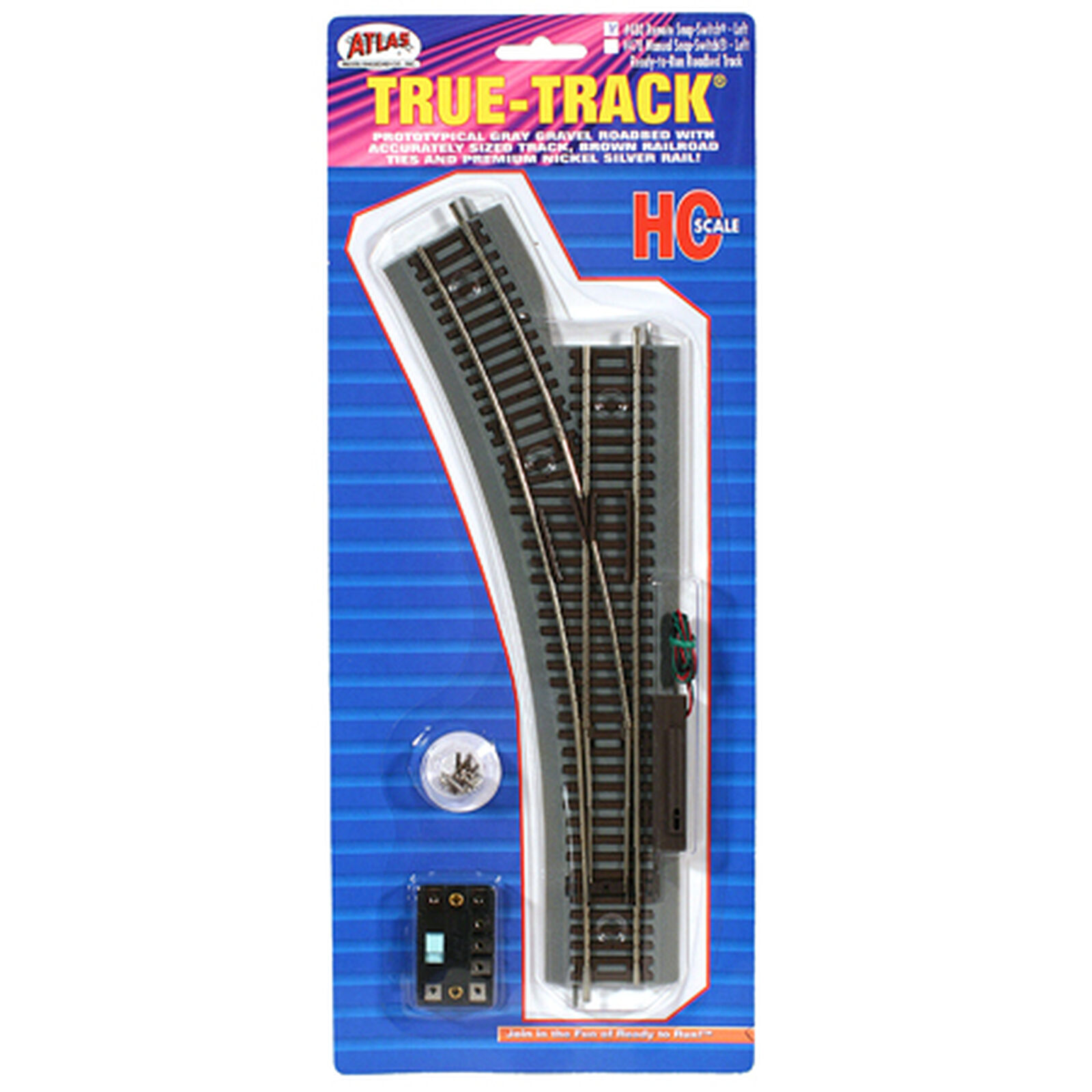 HO True-Track Remote Left-Hand Switch