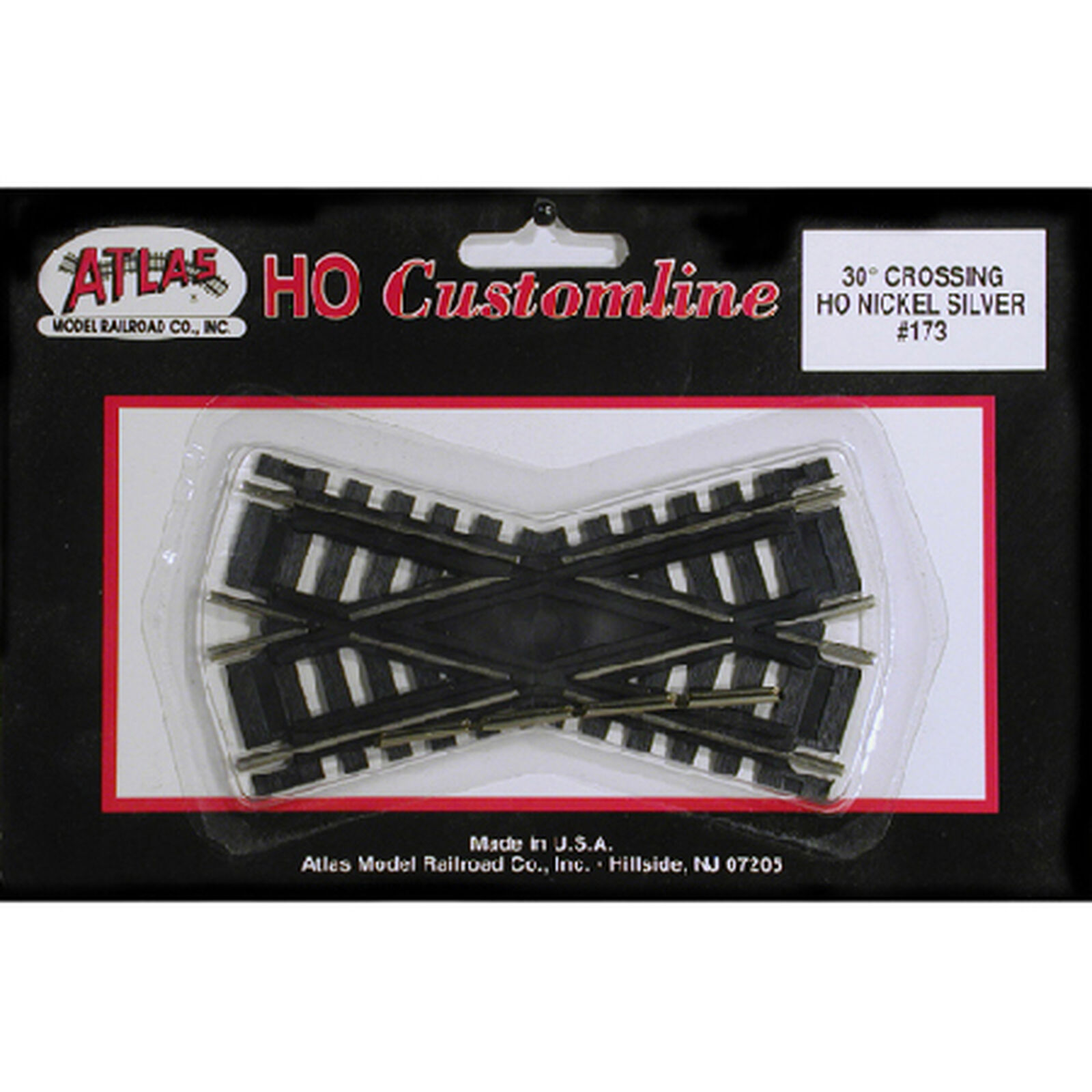 HO Code 100 30 Degree Custom Crossing