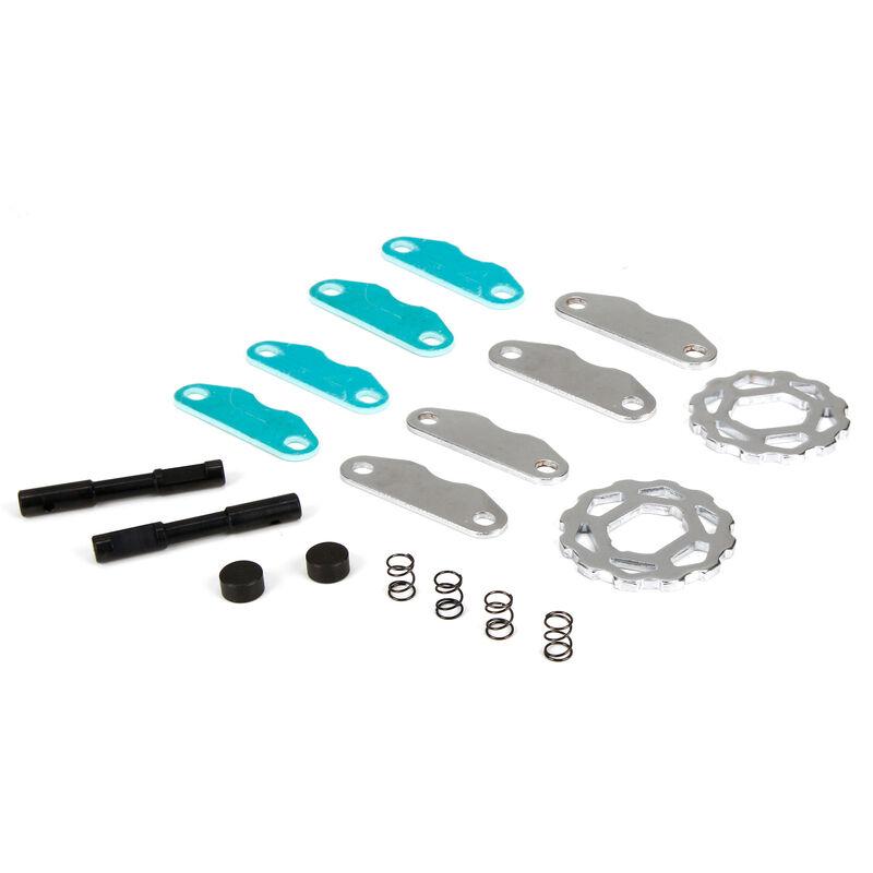 Brake Pads/Springs/Cam/Discs: 1/5 DB XL