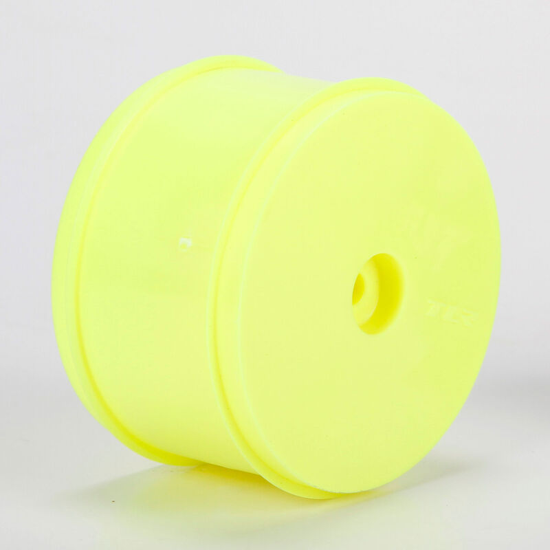1/10 Rear Buggy 61mm Wheels, 12mm Hex, Yellow (2): 22, 22-4