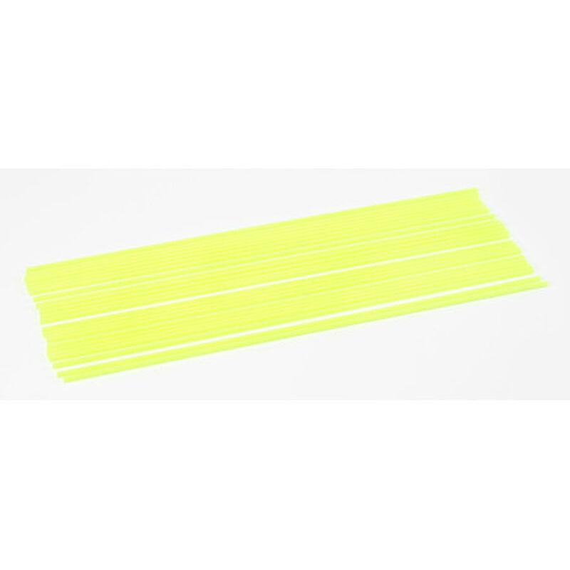 Antenna Tubes, Neon Yellow (24)
