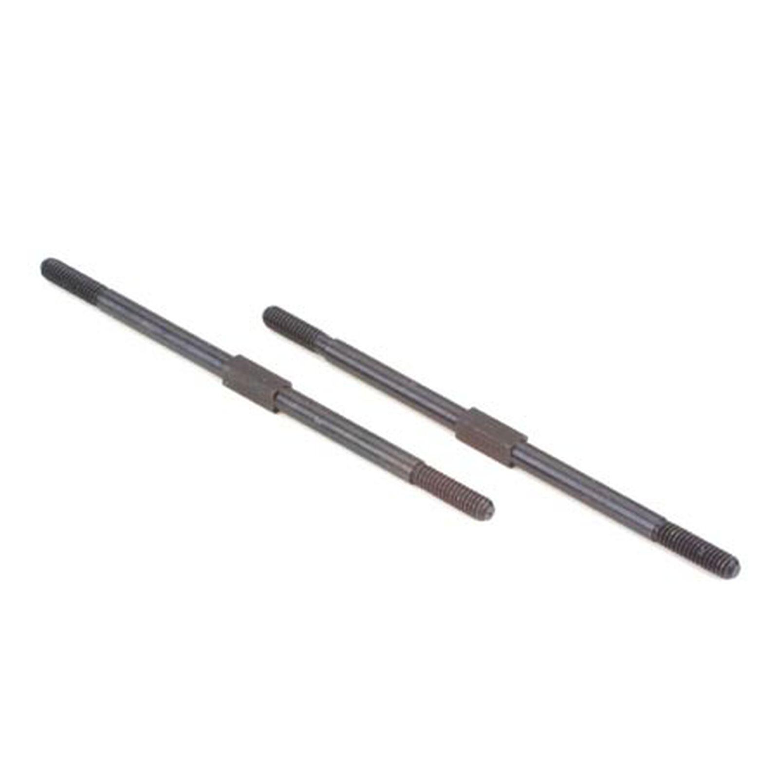 "Turnbuckle 2.62"", Steel (2): RC10T/GT/T2/T3/T4"