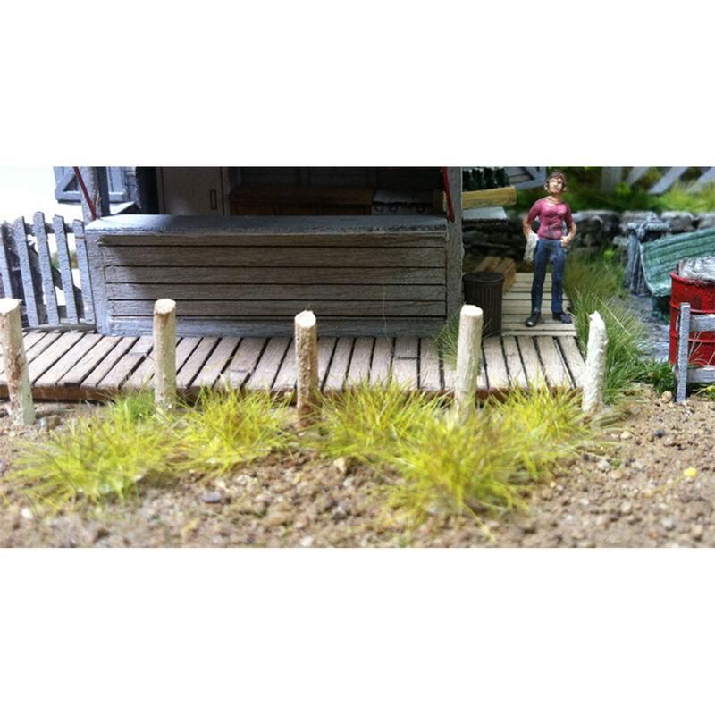 6mm Grass Tufts Tan (100)