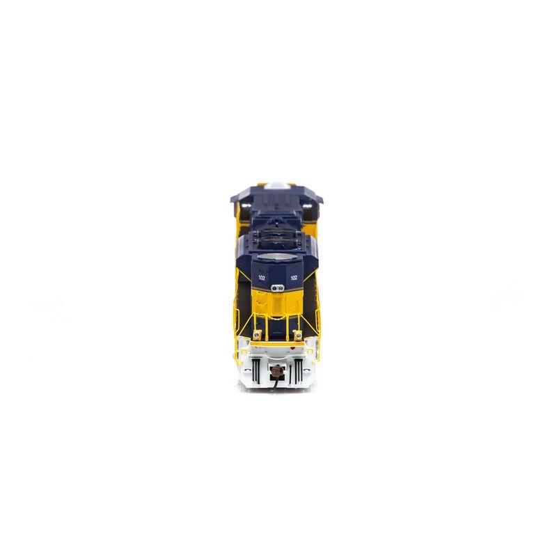 HO SD70M-2 w DCC & Sound FURX #102