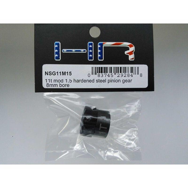 11t Mod 1.5 Hardened Steel Pinion Gear 8mm Bore