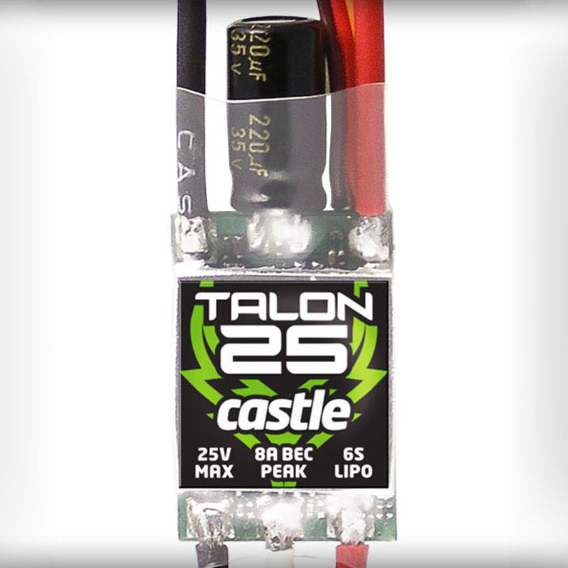 Talon 25-Amp 25V ESC w/8-Amp BEC