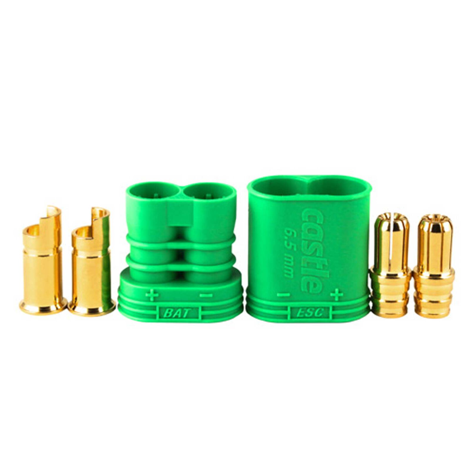 Connector: 6.5mm Polarized Bullet Device and Battery Set