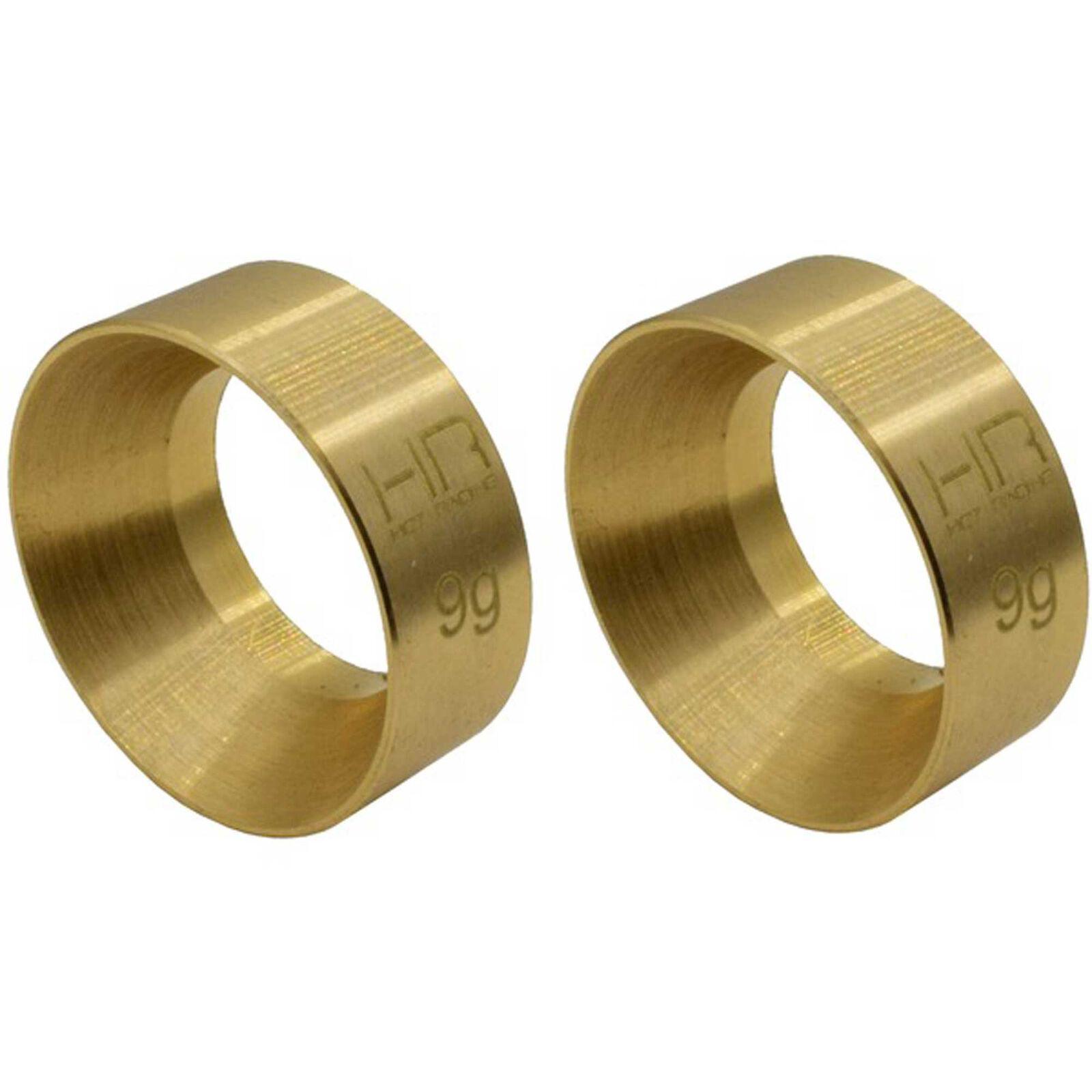 9g Brass KMC Machete Wheel Weights: SCX24