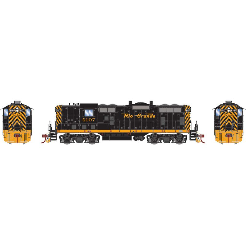 HO GP7 with DCC & Sound D&RGW  #5107