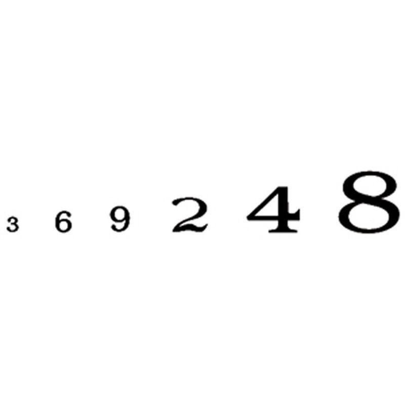 Roman Numbers, Black
