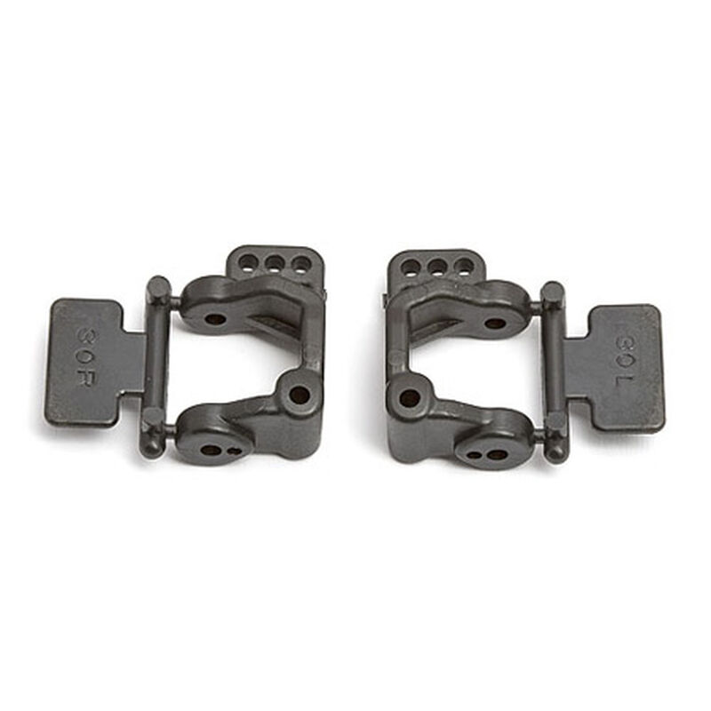 30 Degree Caster Block, Left and Right: RC10GT2