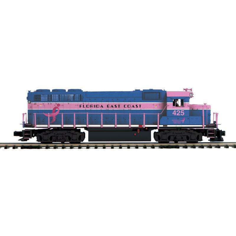 O H-Rail GP40 w PS3 FEC #425