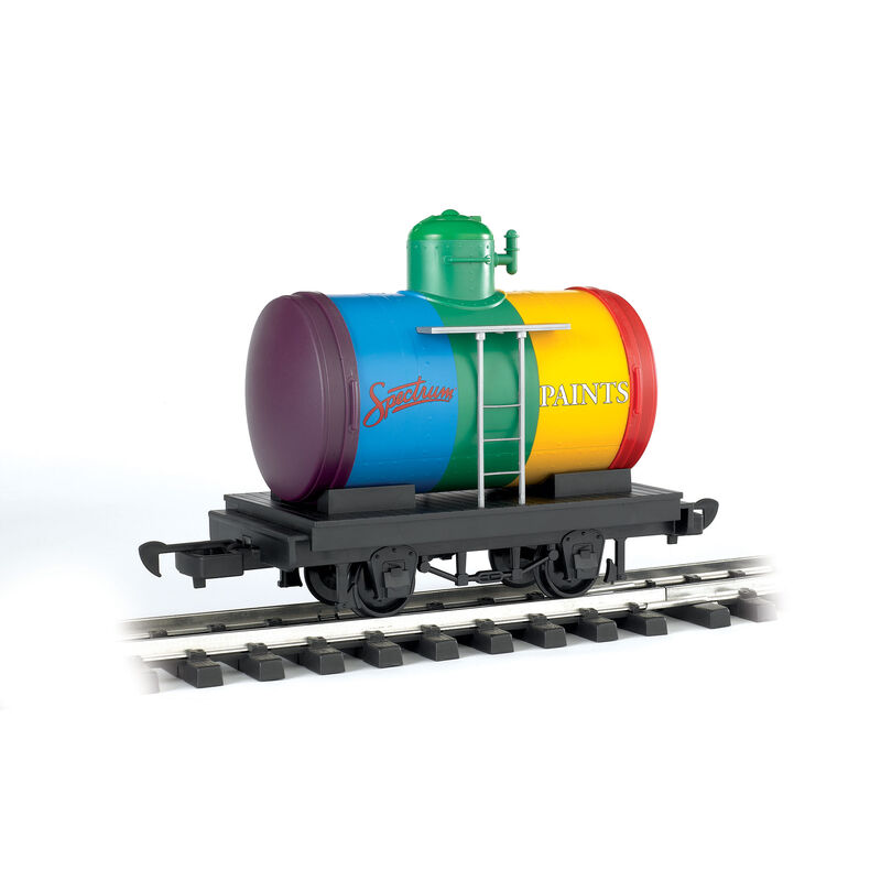 G Li'l Big Haulers Tank Car, Spectrum Paints