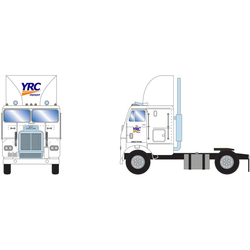 HO RTR FL with 2 Axle YRC