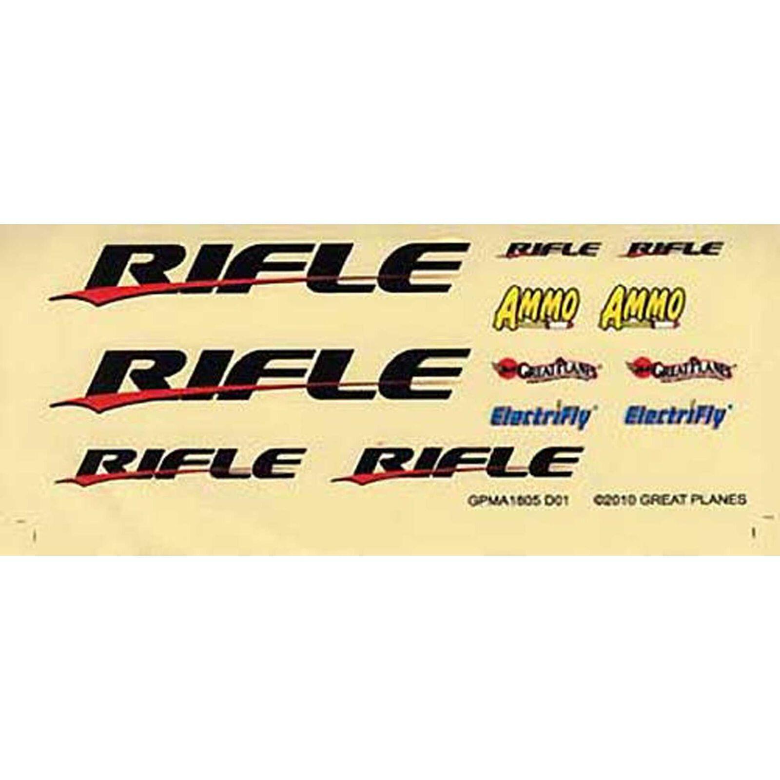 Decal Sheet Rifle EP ARF