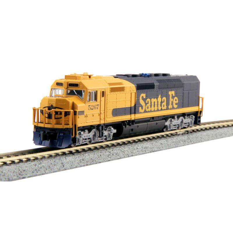 N EMD SDP40F Type 4a w DCC Santa Fe Freight #5267