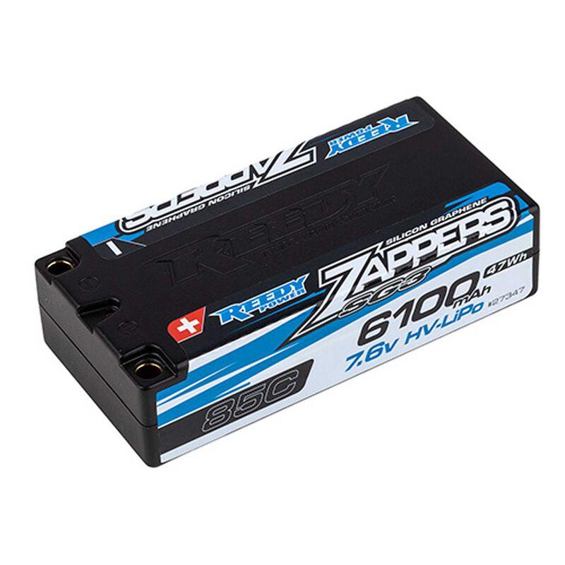 7.6V 6100mAh 2S 85C Reedy Zappers SG3 Shorty HV-LiPo Battery: Tubes, 5mm