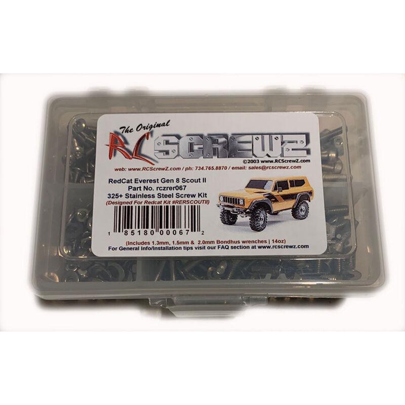 Stainless Steel Screw Kit: Redcat Gen8 Scout