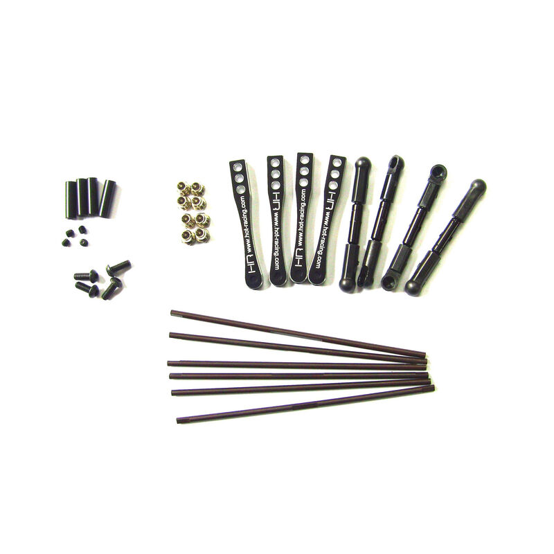 Torsion Sway Bar Set; Axial Wraith