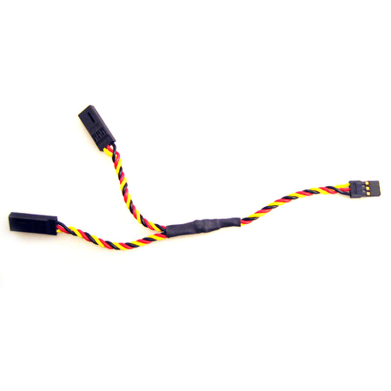 Twisted Wire Y-Harness, 6""