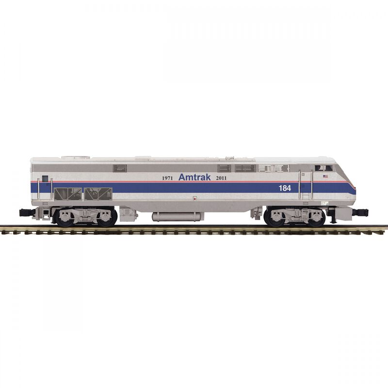 O-27 P42 Genesis with PS3 Amtrak #184