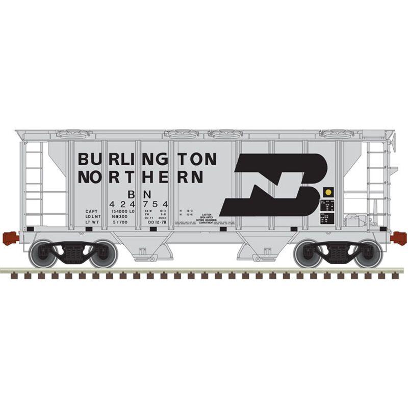 HO Trainman PS-2 Covered Hopper BN #424796