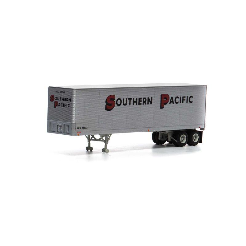 HO RTR 40' Fruehauf Z-Van Trailer SP #200657