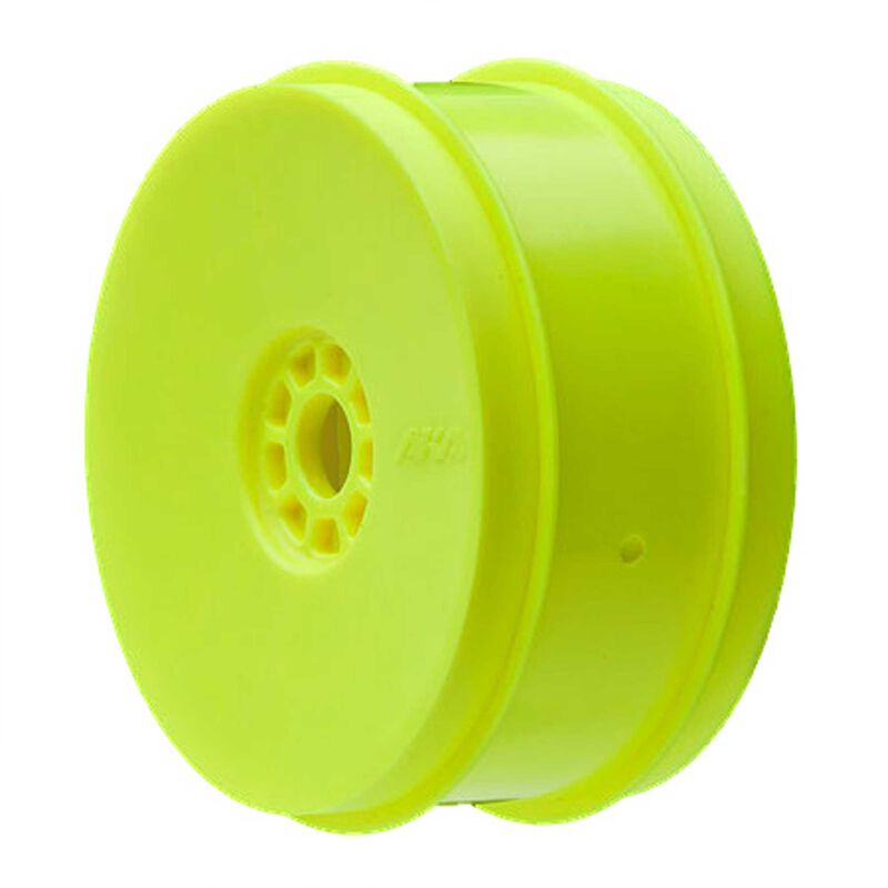 1/8 EVO Front/Rear Wheels, Yellow: Buggy (4)