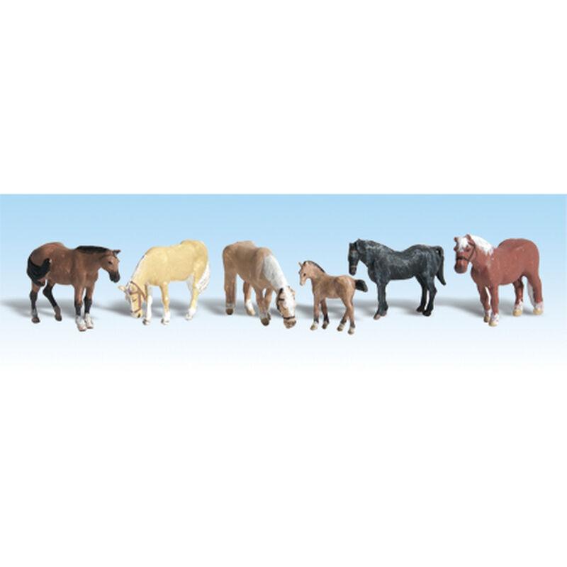 HO Farm Horses