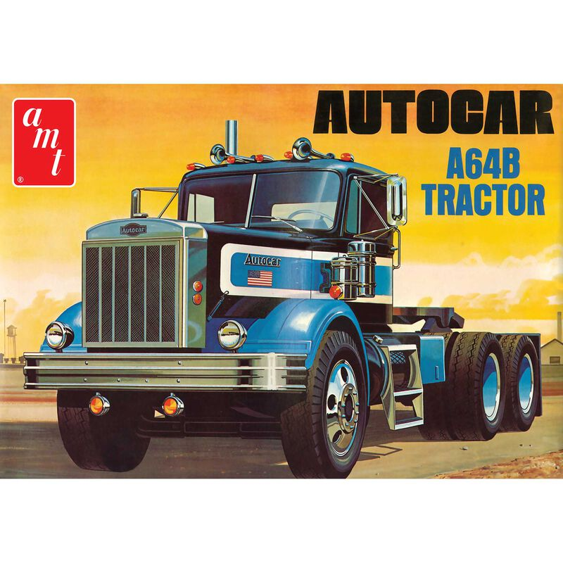 1/25, Autocar A64B Semi Tractor, Model Kit