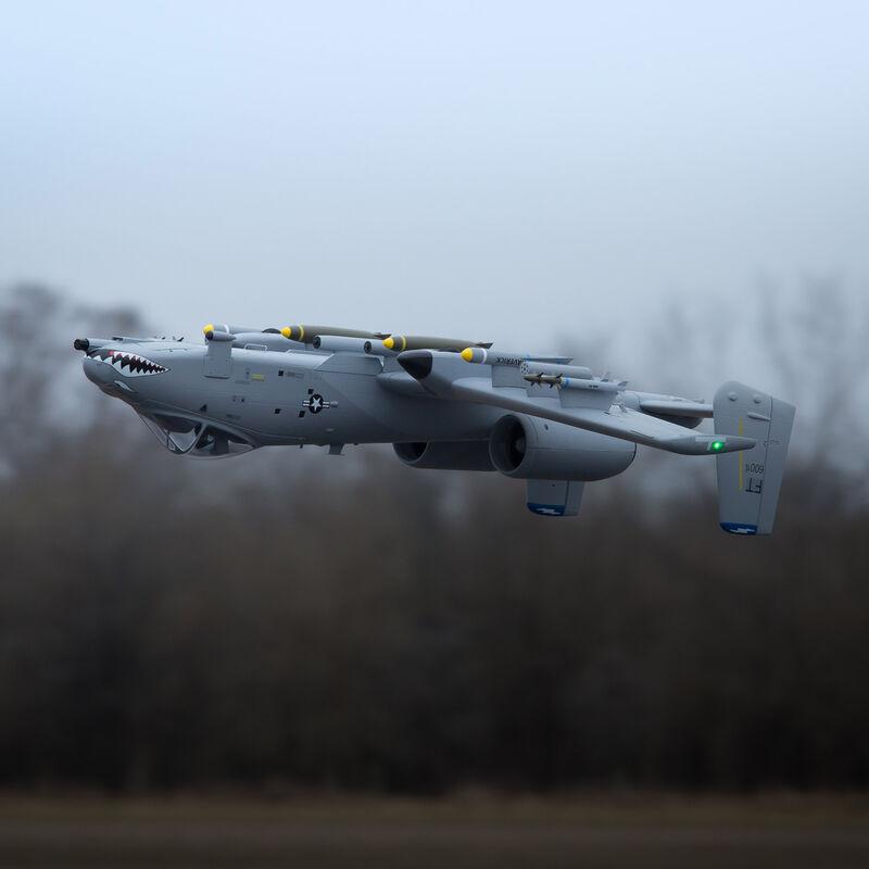 A-10 Thunderbolt II 70mm EDF Jet PNP, 1500mm