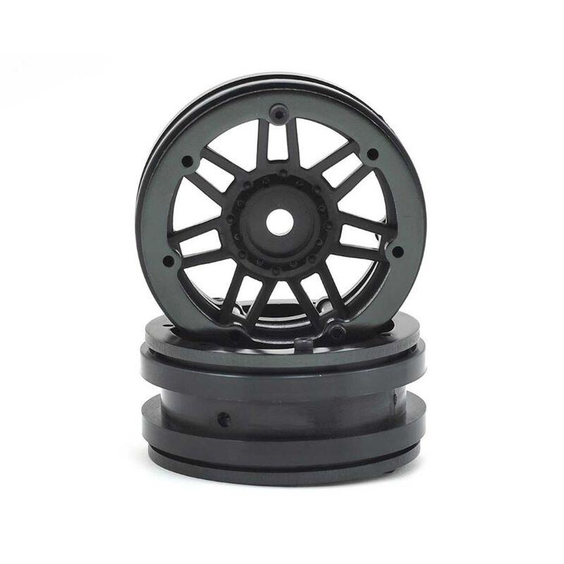 1.9 Beadlock Raceline #931 Injector, Black/Black (2)