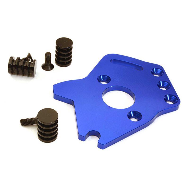 T3 Motor Plate, Blue: ST 4X4, SLH 4X4 (non-LCG)